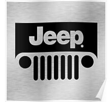 Jeep Steel Chrome Poster