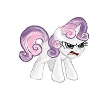 Sweetie Belle Photographic Print