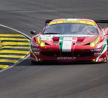 AF Corse SRL Ferrari 458 Italia GT2 by TomGreenPhotos