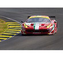 AF Corse SRL Ferrari 458 Italia GT2 Photographic Print