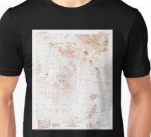 USGS TOPO Map Arizona AZ Chico Shunie 310843 1990 24000 Unisex T-Shirt