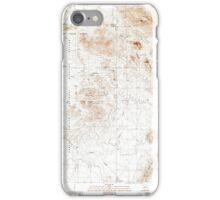 USGS TOPO Map Arizona AZ Chico Shunie 310843 1990 24000 iPhone Case/Skin