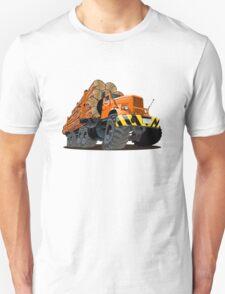 cartoon logging truck Unisex T-Shirt