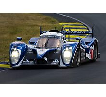Peugeot Sport Total Peugeot 908 at Le Mans Photographic Print