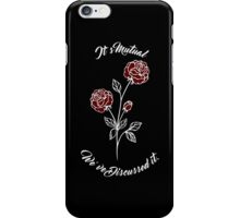 It's Mutual, We've Discussed it - Larry Design iPhone Case/Skin