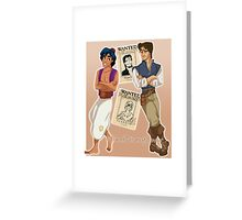 The Wanted Thieves Greeting Card