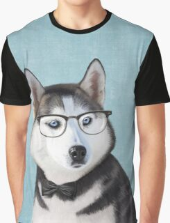 Mr Siberian Husky Graphic T-Shirt