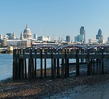 Snowmen on the Pier by TomGreenPhotos