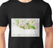 USGS TOPO Map Arizona AZ Nogales 315560 1956 250000 Unisex T-Shirt