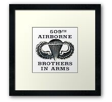 Jump Wings - 509th Airborne - Brothers in Arms Framed Print