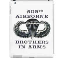 Jump Wings - 509th Airborne - Brothers in Arms iPad Case/Skin