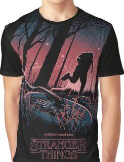 Stranger Things Run Graphic T-Shirt