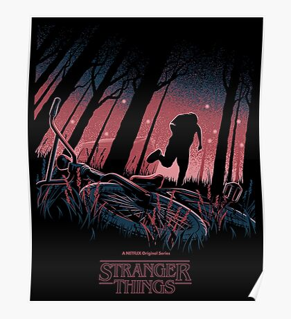 Stranger Things Run Poster