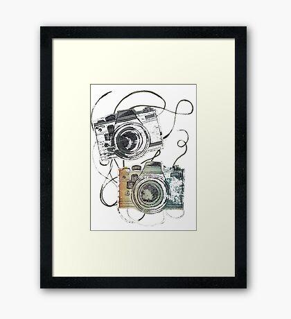 forever film Framed Print