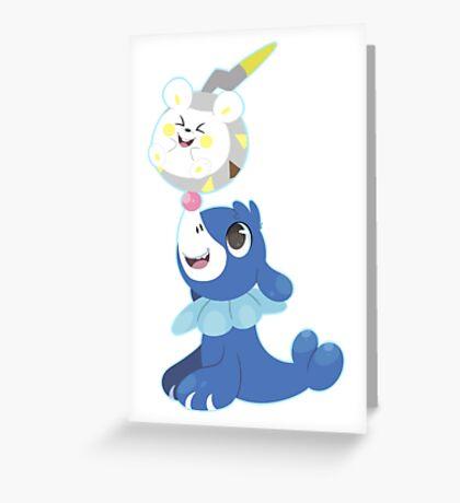 A new friend! Greeting Card