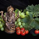 Good Fortune with Ganesha by Heather Friedman