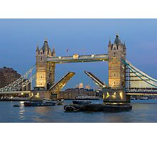 Tower Bridge, Raised Photographic Print