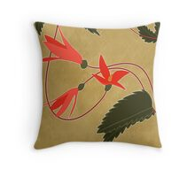 Begonias Throw Pillow