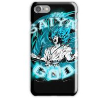 GOKU SUPER SAIYAN GOD V2 iPhone Case/Skin