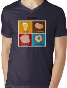 Radiobread Mens V-Neck T-Shirt