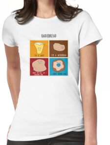Radiobread Womens Fitted T-Shirt