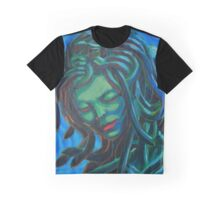 Blue Medusa Graphic T-Shirt