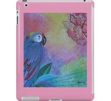 TROPICAL PARROT iPad Case/Skin