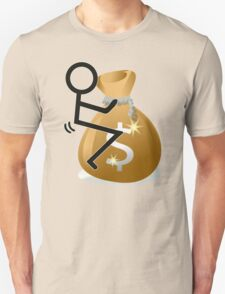 Fuck The Money Cool Funny Icon  Unisex T-Shirt