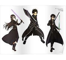 Sword Art Online Kirito Poster