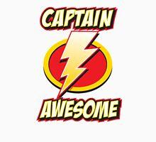 Captain Awesome - Funny Hilarious Super Hero Zapped Thunder Sign Unisex T-Shirt