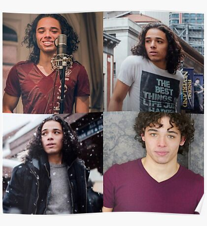 Anthony Ramos Collage Poster