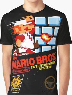 Super Mario: Box Art Graphic T-Shirt