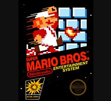 Super Mario: Box Art Unisex T-Shirt