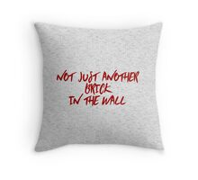 Not just another brick in the wall Throw Pillow