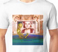 Alien Encounter The Looking Glass Unisex T-Shirt