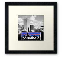 Portlandia Framed Print