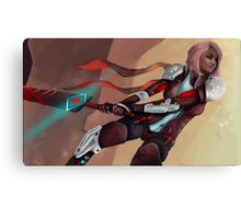 Sci-fi Warrior Canvas Print