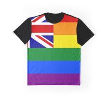 UKGAY FLAG Graphic T-Shirt