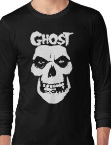 Crimson Ghost B.C Skull Long Sleeve T-Shirt