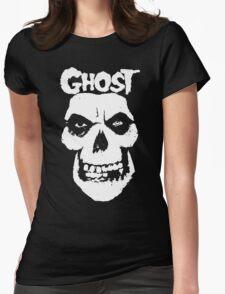 Crimson Ghost B.C Skull Womens Fitted T-Shirt