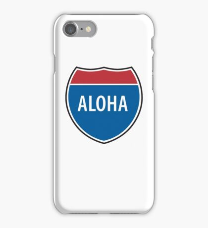 Interstate Aloha iPhone Case/Skin