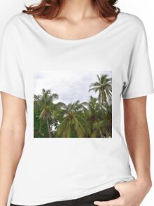 Palm Trees in the Sky Women's Relaxed Fit T-Shirt