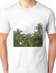 Palm Trees in the Sky Unisex T-Shirt
