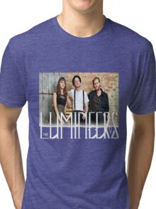 the lumineers band Tri-blend T-Shirt