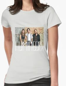 the lumineers band Womens Fitted T-Shirt