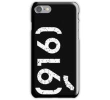 Area Code 916 California iPhone Case/Skin