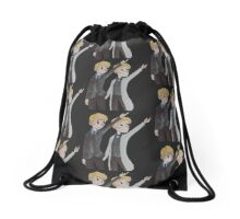 doctor who bag Drawstring Bag