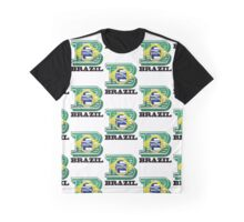 B is for Brazil Graphic T-Shirt
