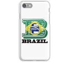 B is for Brazil iPhone Case/Skin