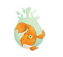 Fish Drop Photographic Print